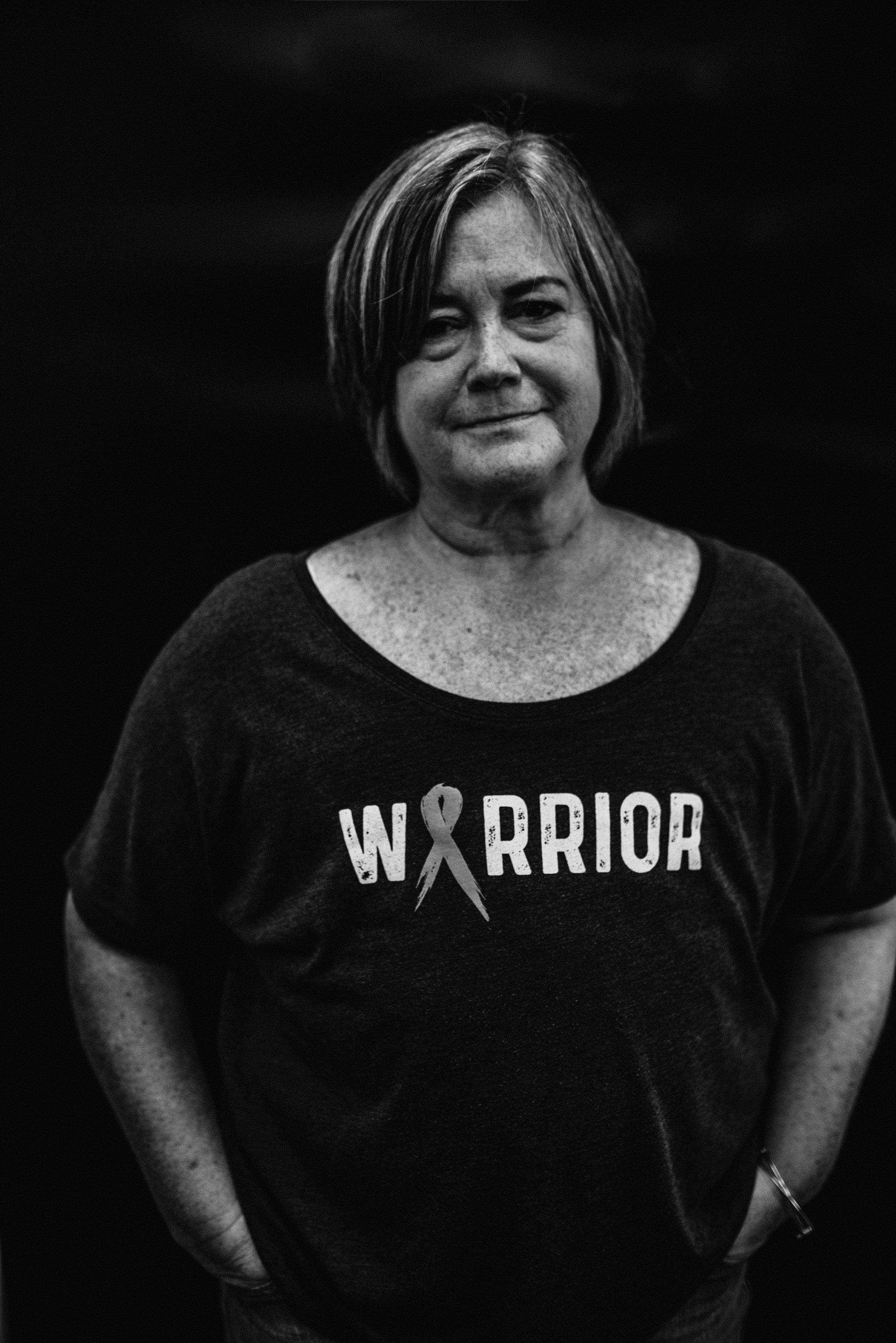 Kim, Catalyst for Change Wear Warrior | Portrait by Rebecca Elaine