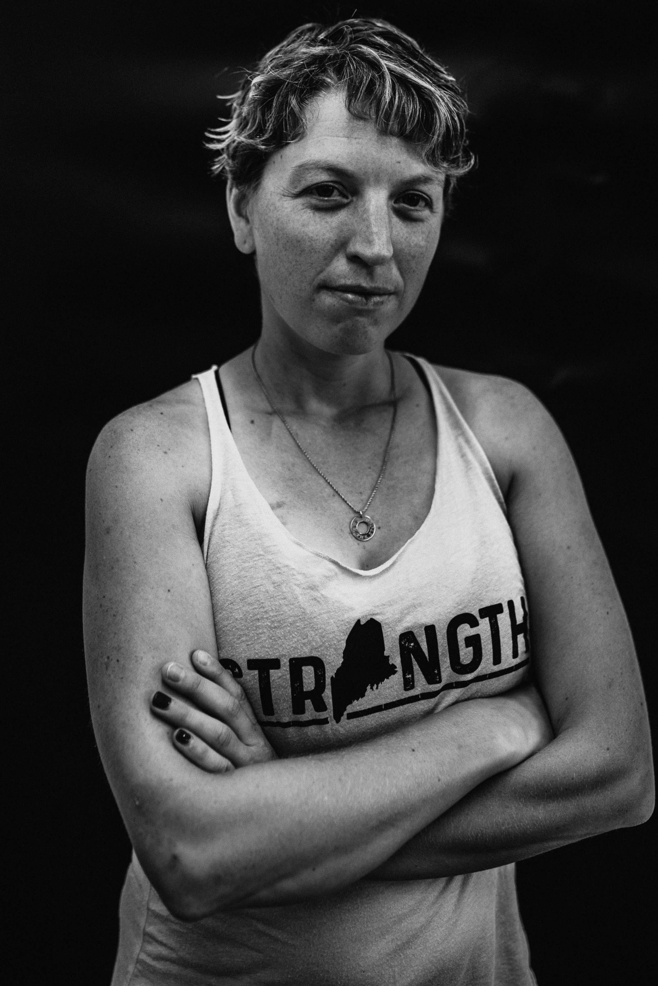 Sarah, Catalyst For Change Wear Warrior | Portrait by Rebecca Elaine