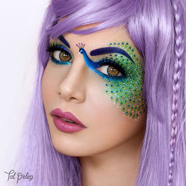 Fashion magazine - Follow Tag Pelleg on Instagram for Makeup That's Right Out of a Fairytale—Literally