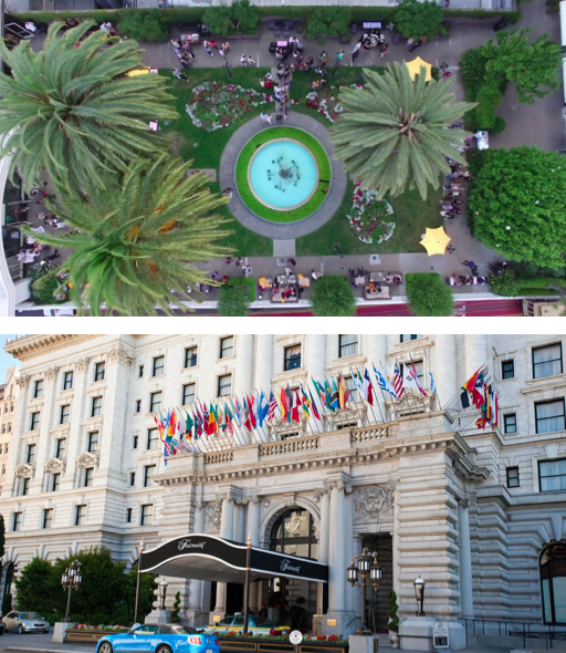 THE HISTORIC FAIRMONT - 950 Mason StreetSan Francisco, CA USAThe venue is conveniently located a short distance from some of the San Francisco's most popular tourist sites like Grace Cathedral, Chinatown, the Cable Car System, Union Square, and Fisherman's Wharf.