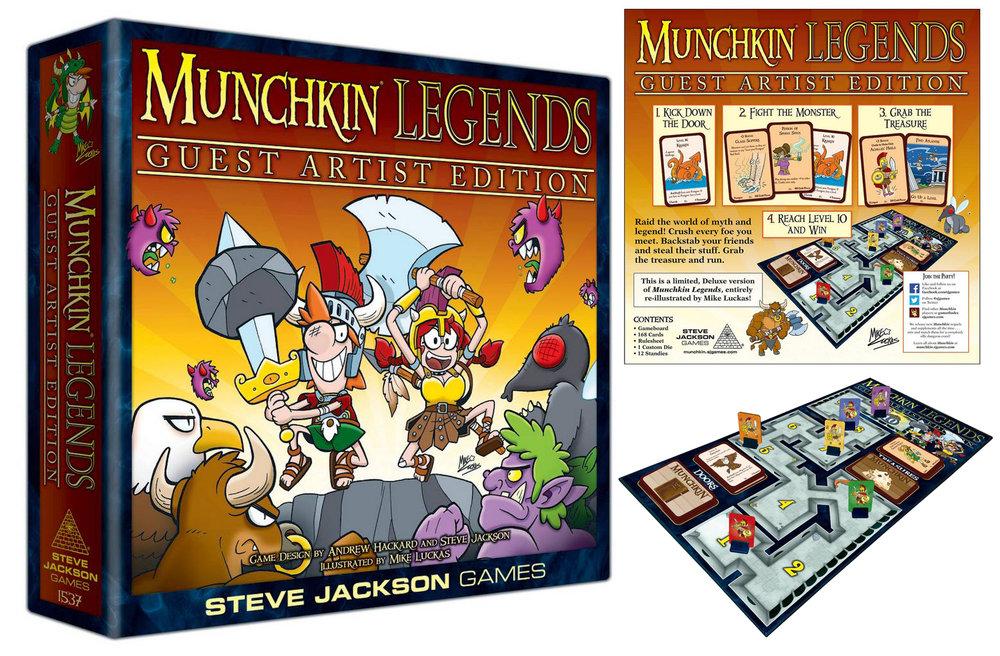 Munchkin Legends (SJ Games)