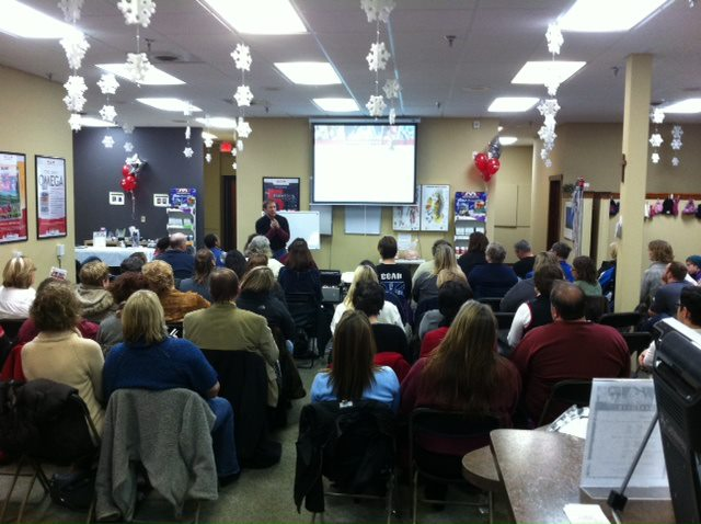 Christmas Nutrition Event, Maple Grove, MN