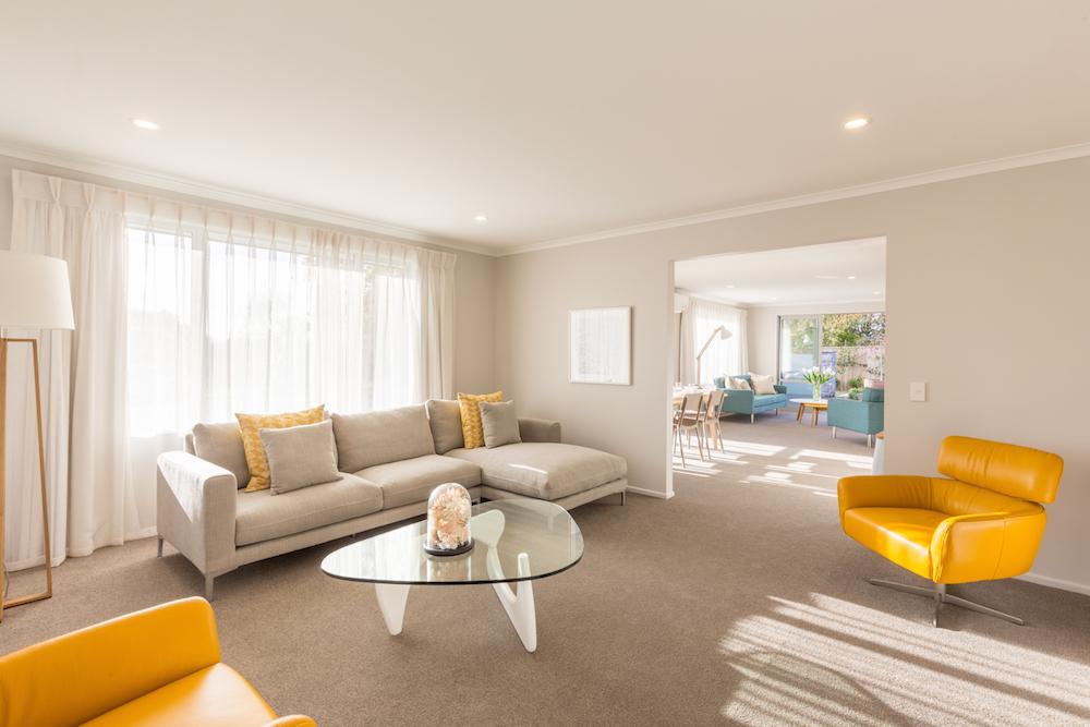 Milestone homes lounge 1