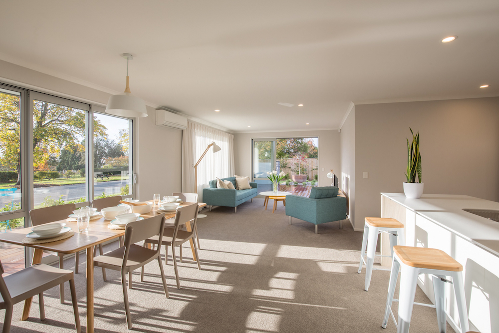 Milestone homes dining room