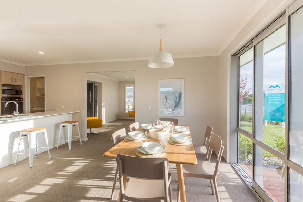 Milestone homes dining room 3