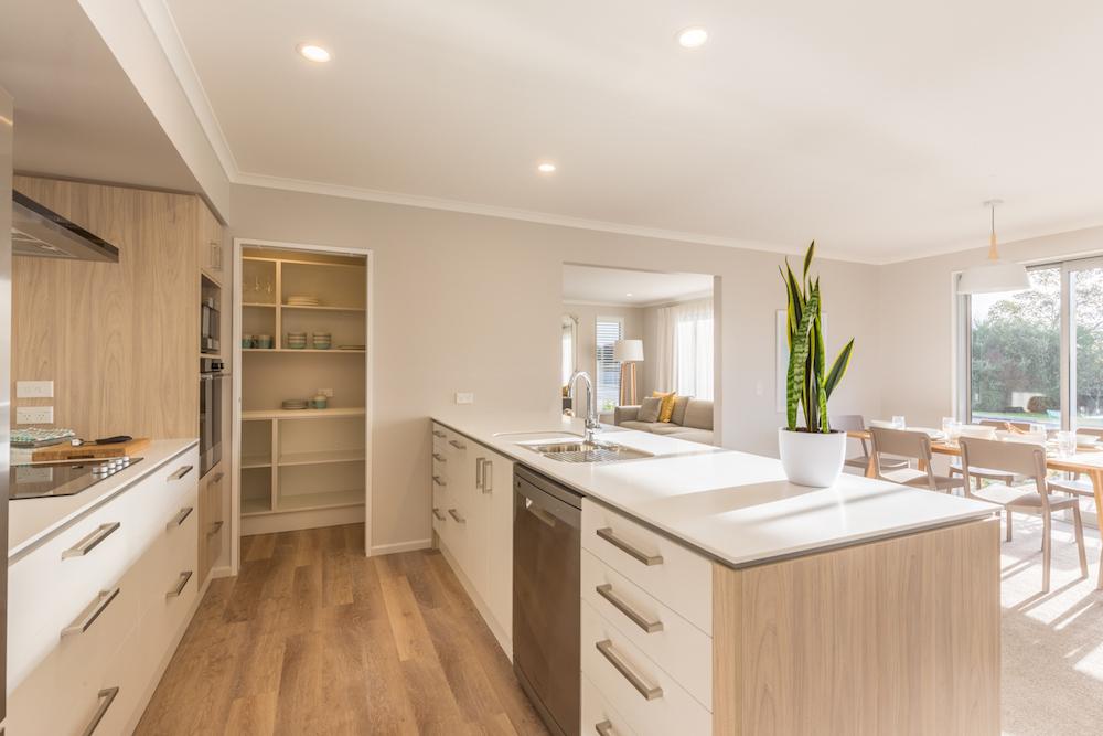 Milestone homes kitchen
