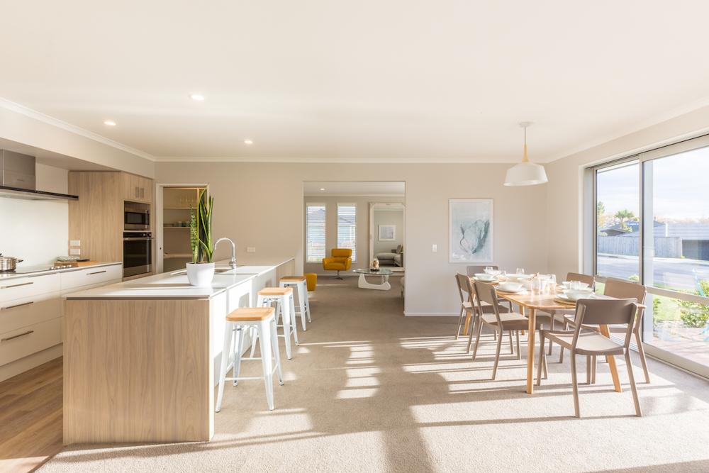 Milestone homes living area