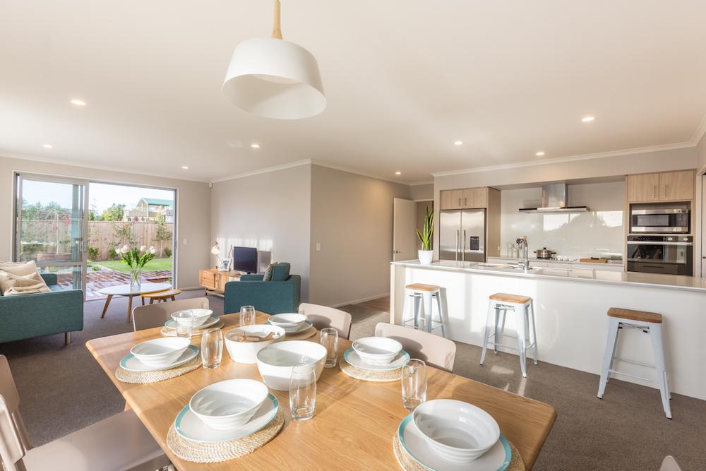 Milestone homes dining room 4