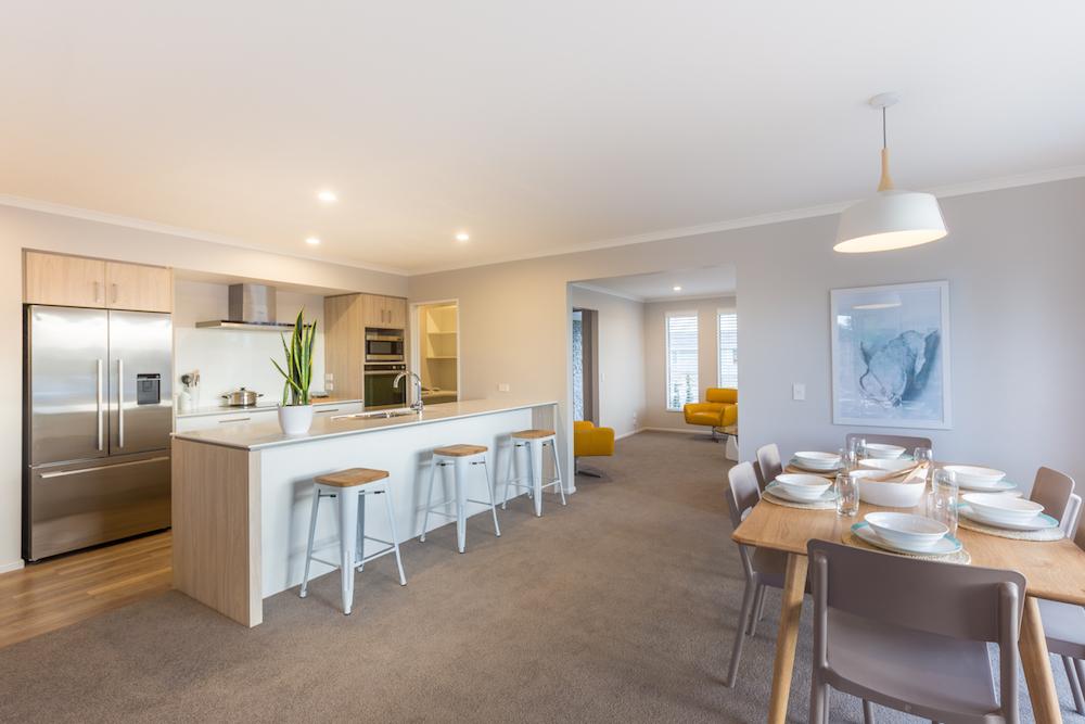 Milestone homes living room 3