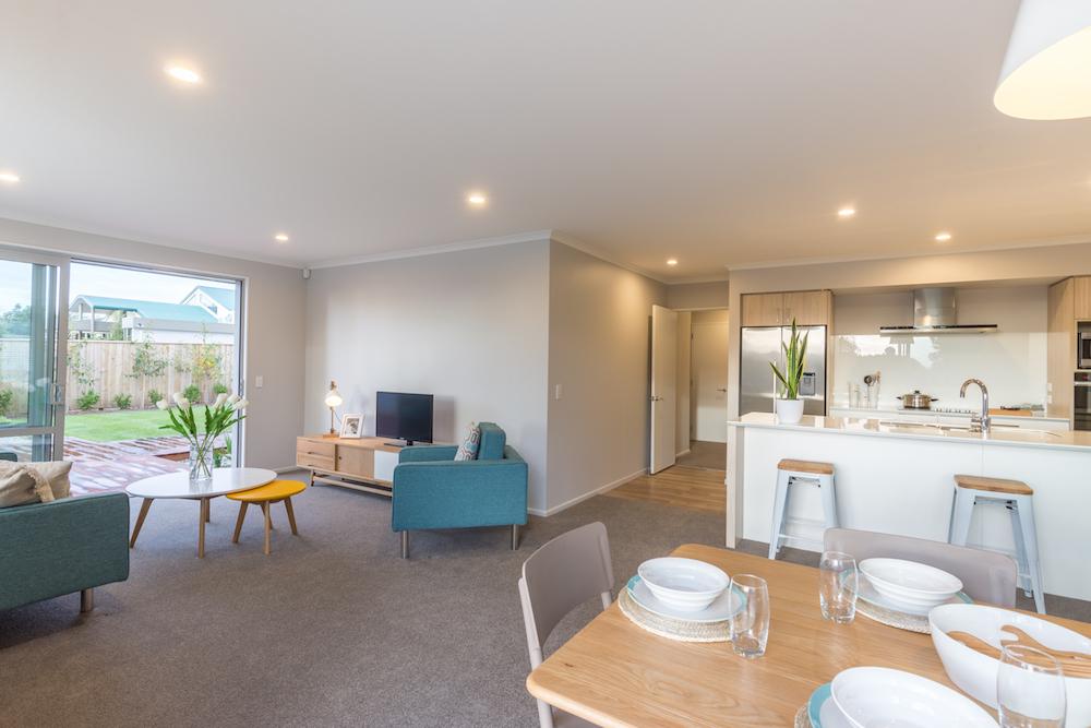 Milestone homes living room 4