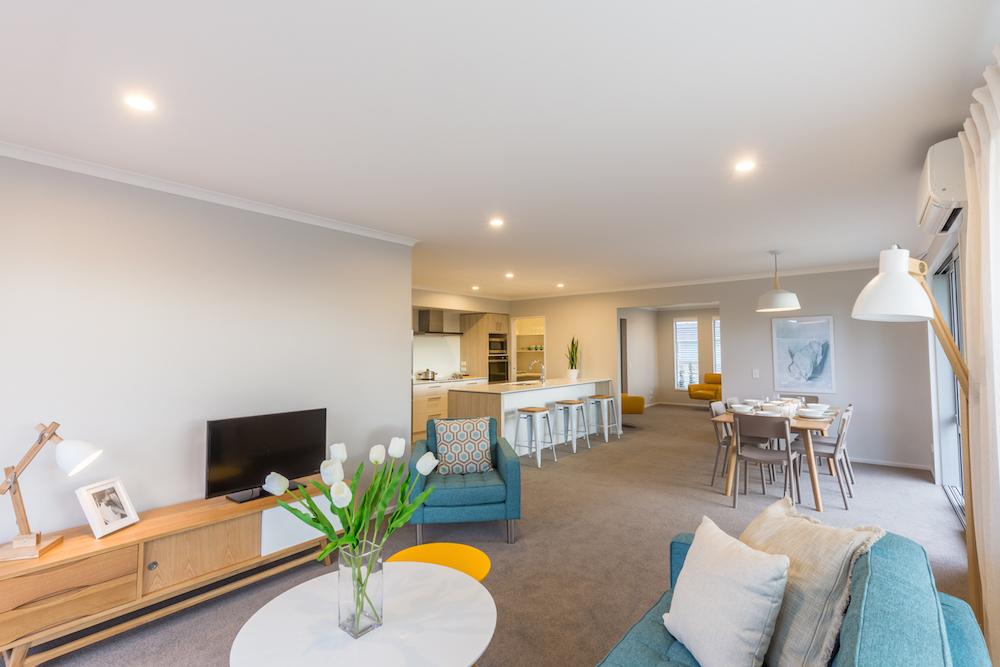 Milestone homes living area 5
