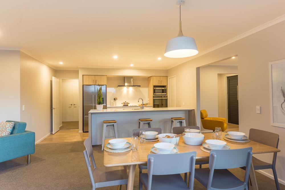 Milestone homes dining room 5