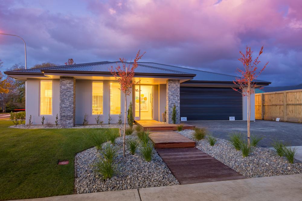 Milestone homes outside 5