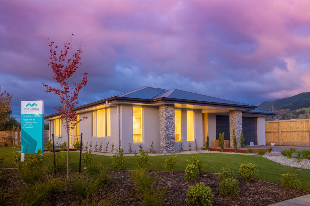 Milestone homes outside 4