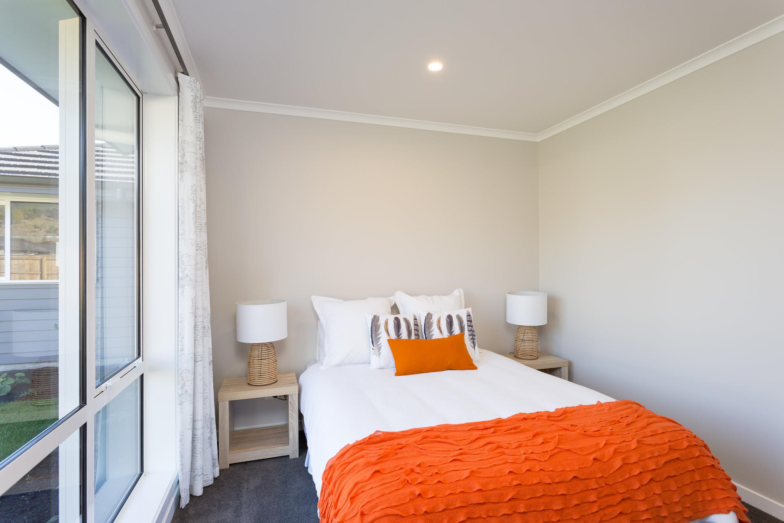 Orange homes bedroom 2
