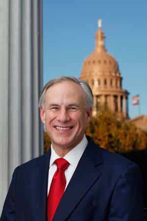 Governor Greg Abbott (R-Texas)