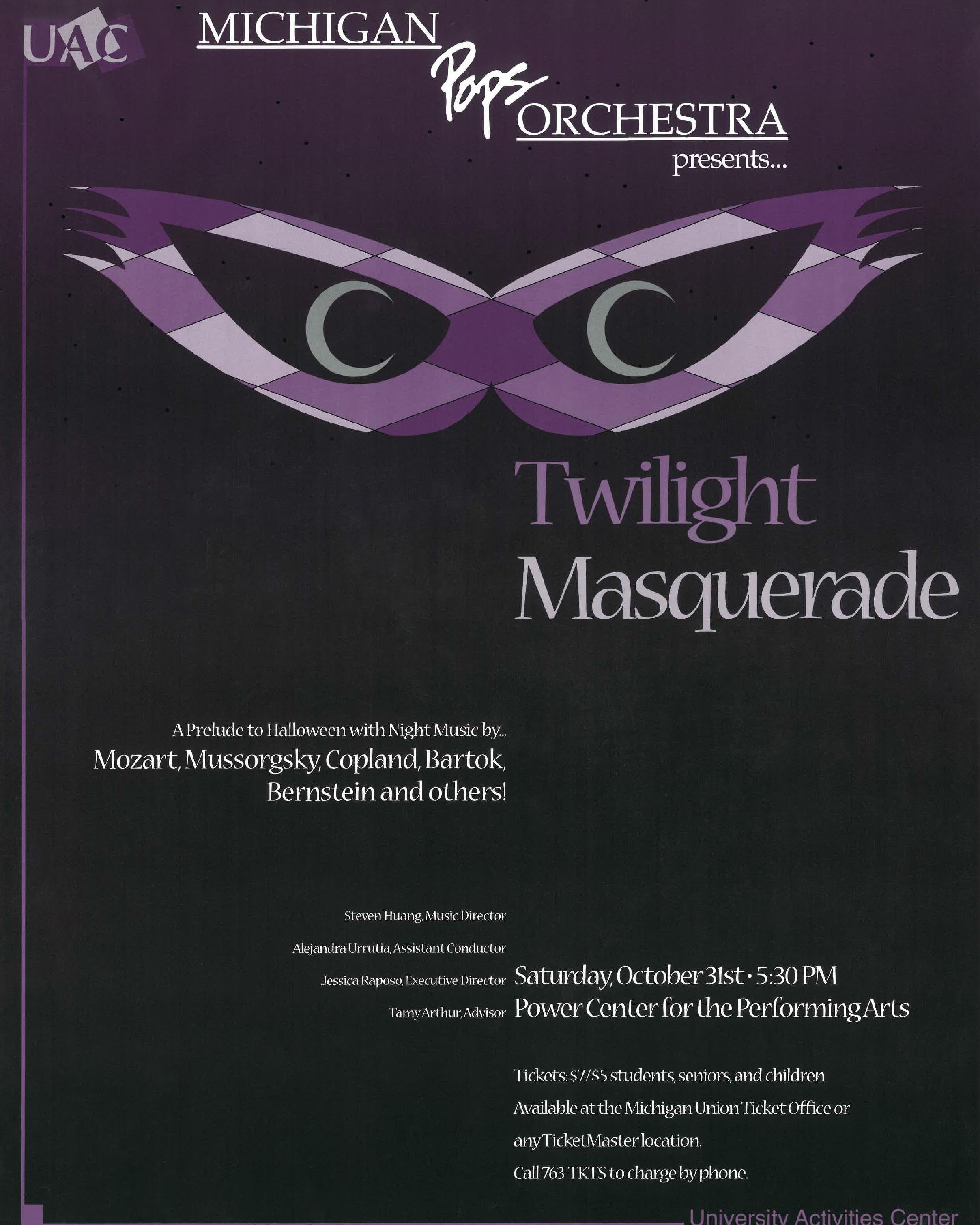 TWILIGHT MASQUERADE  October 31, 1998*