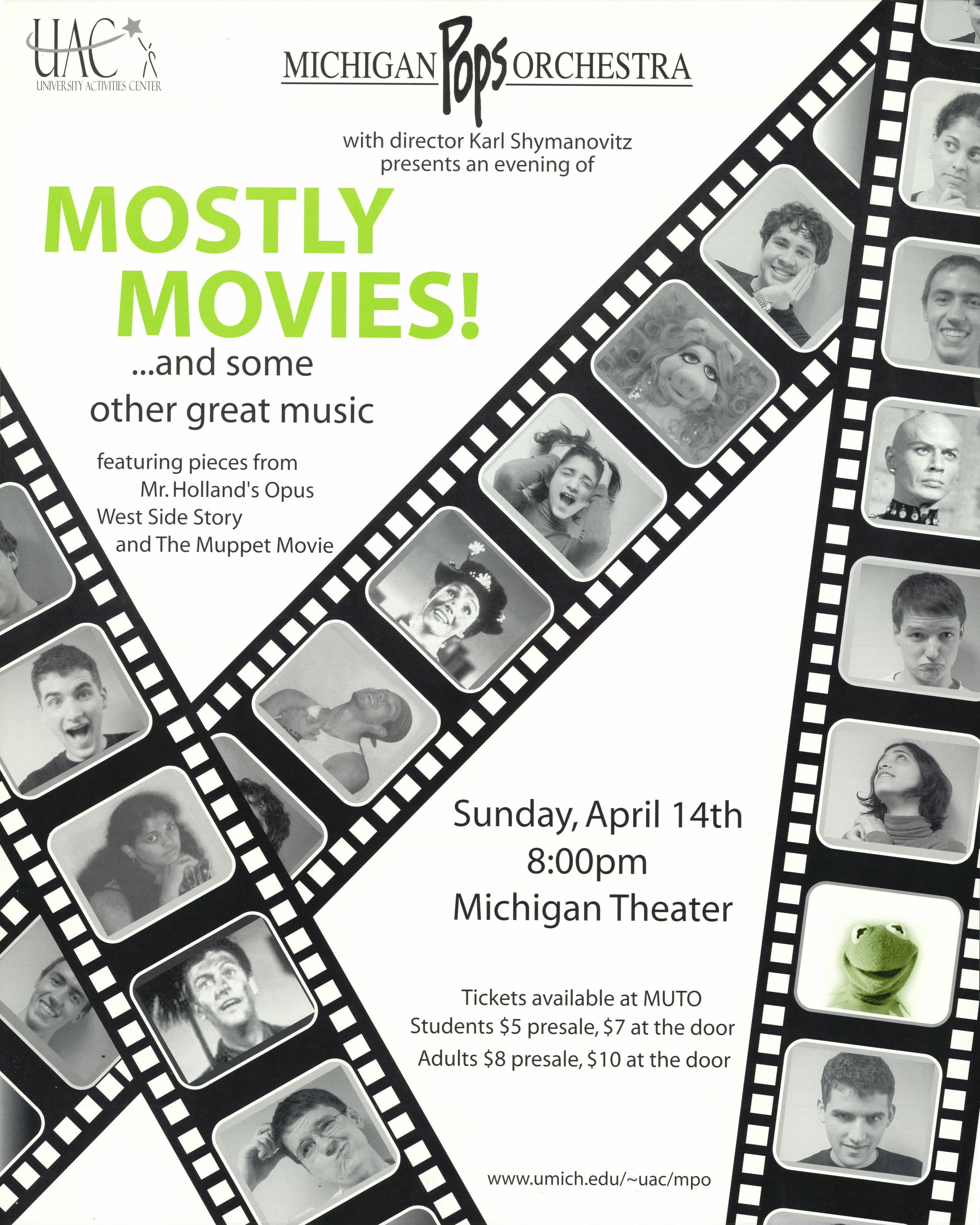 MOSTLY MOVIES!  April 14, 2002