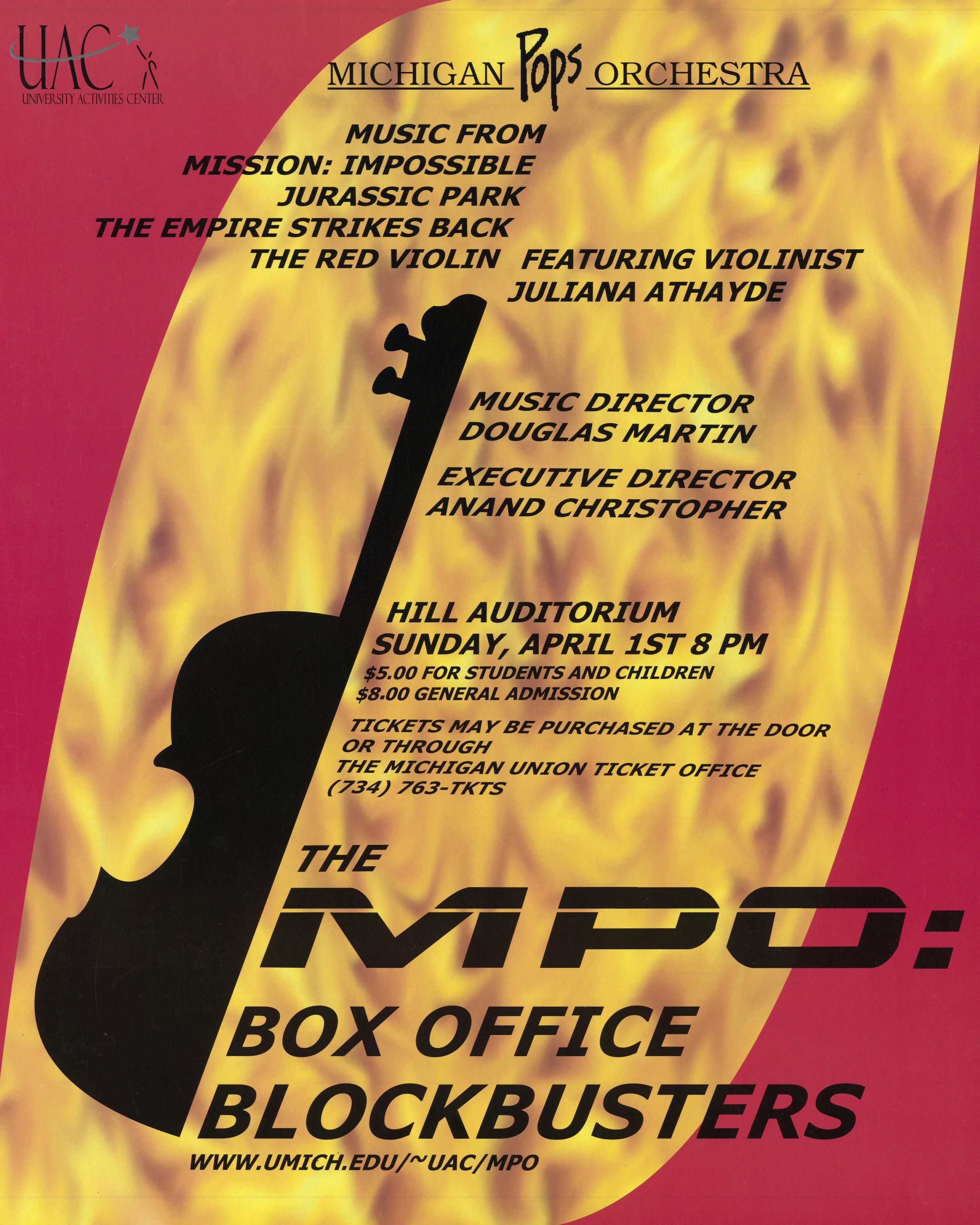BOX OFFICE BLOCKBUSTERS  April 1, 2001*
