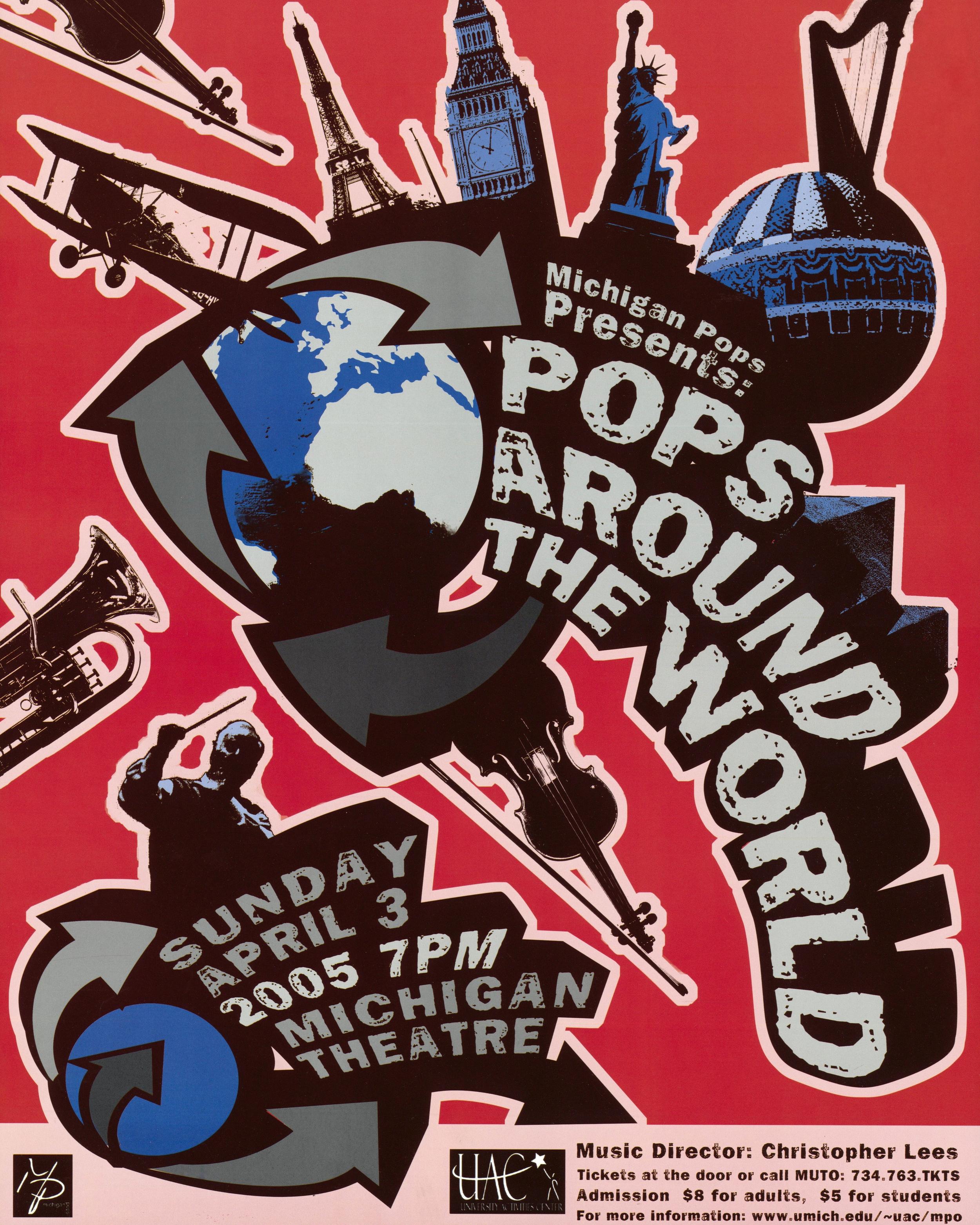 POPS AROUND THE WORLD  April 3, 2005