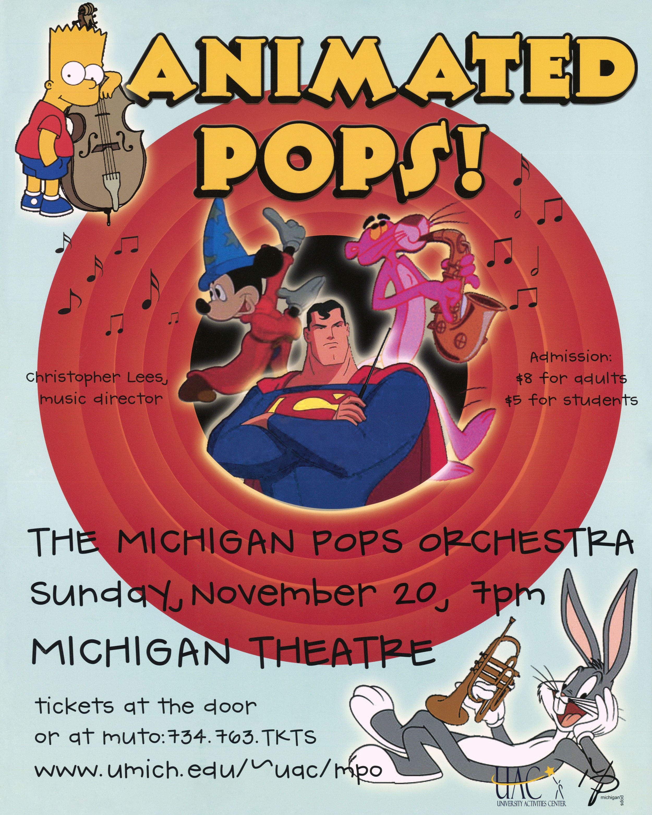 ANIMATED POPS  November 20, 2005