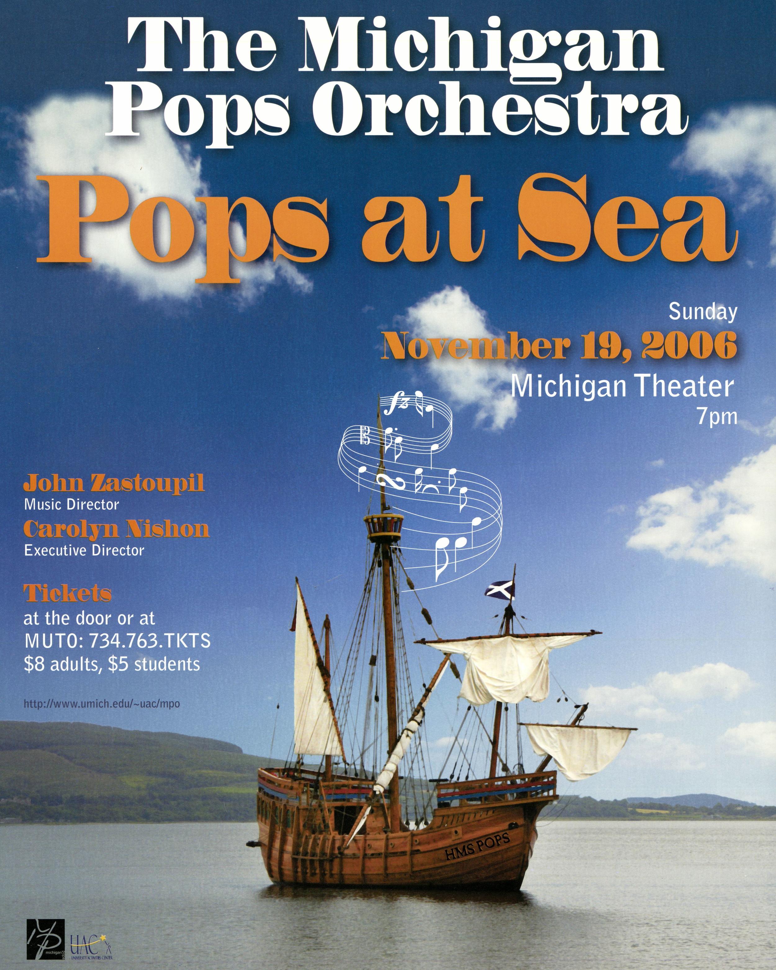 POPS AT SEA  November 19, 2006