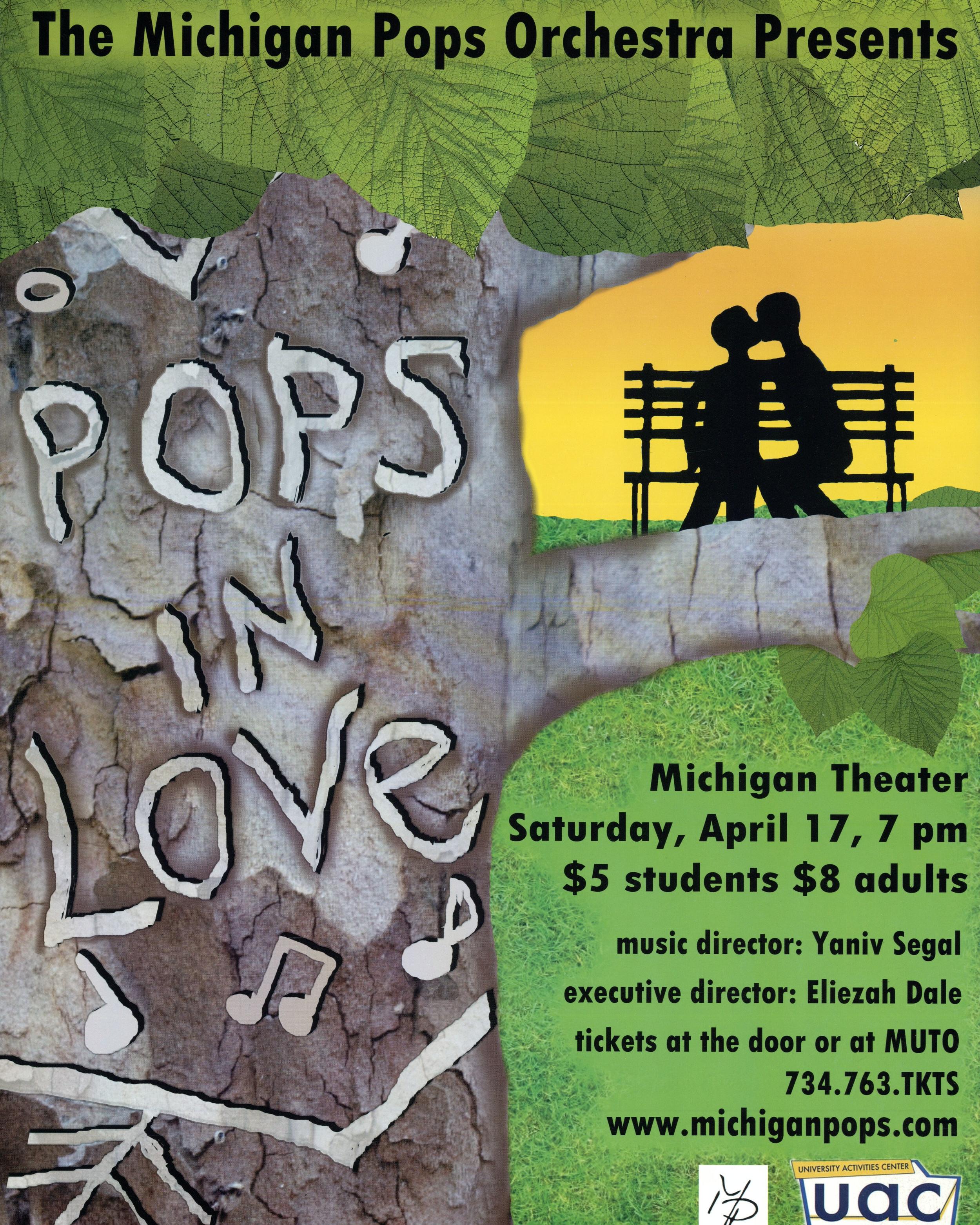 POPS IN LOVE  April 17, 2010