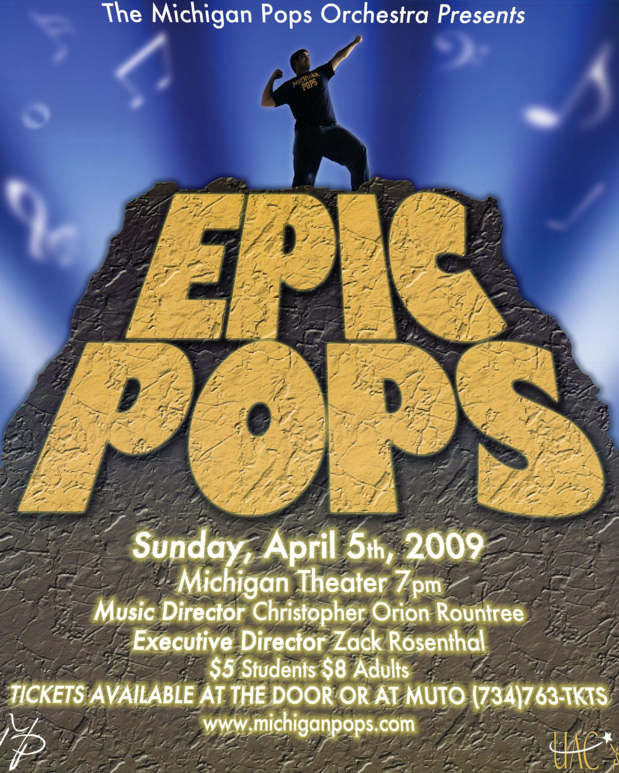 EPIC POPS  April 5, 2009