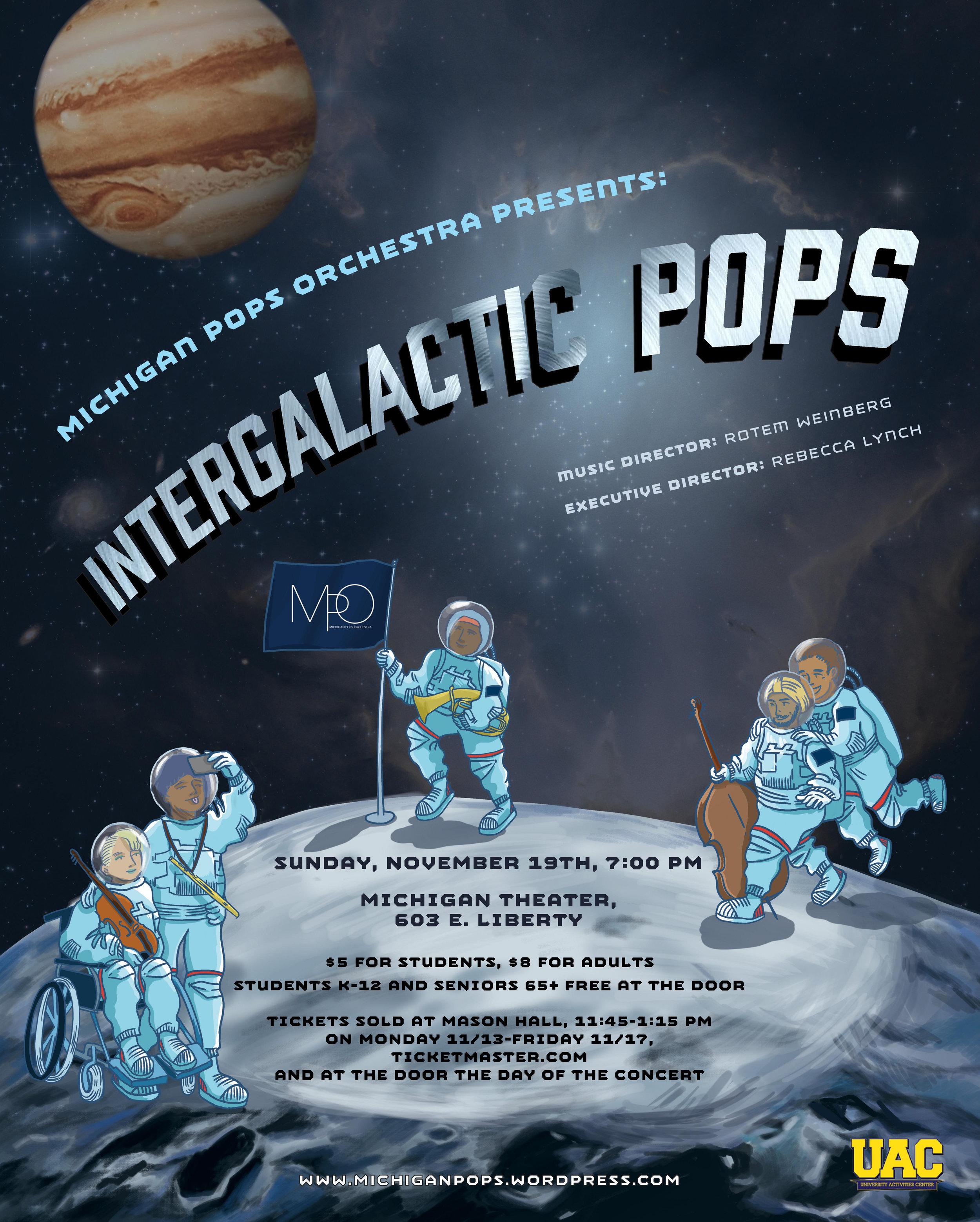 INTERGALACTIC POPS  November 19, 2017