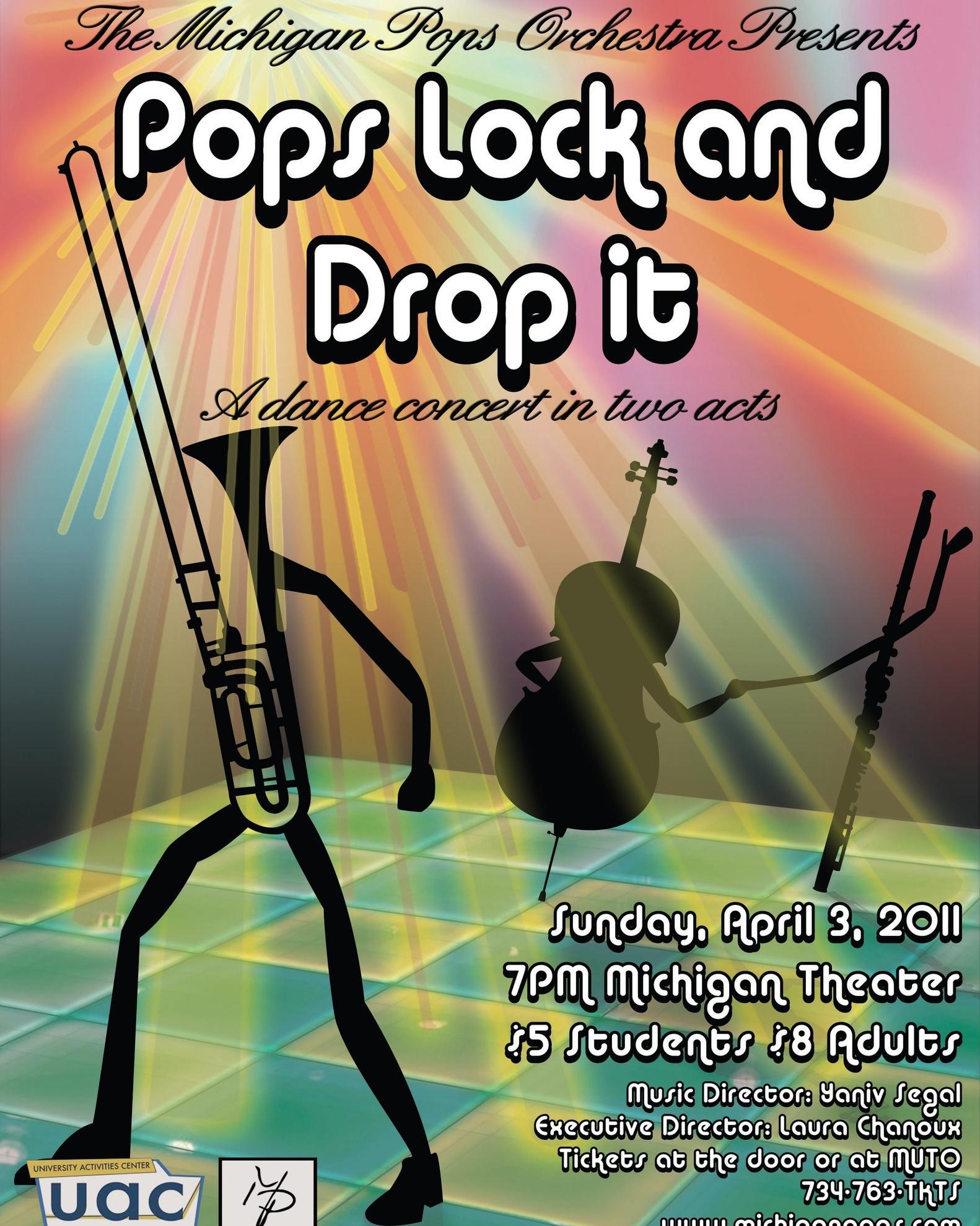 POPS LOCK AND DROP IT  April 3, 2011