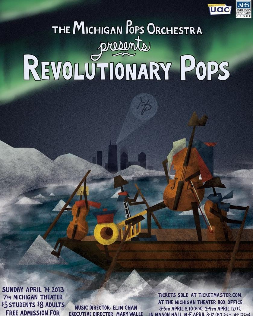 REVOLUTIONARY POPS  April 14, 2013