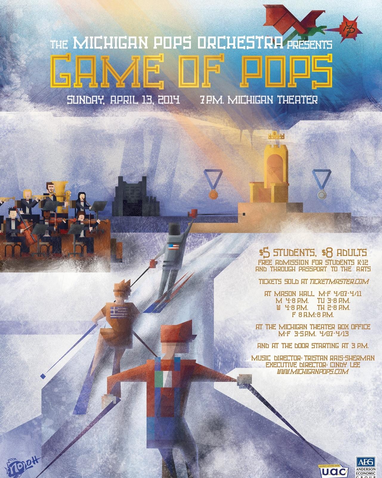 GAME OF POPS  April 13, 2014