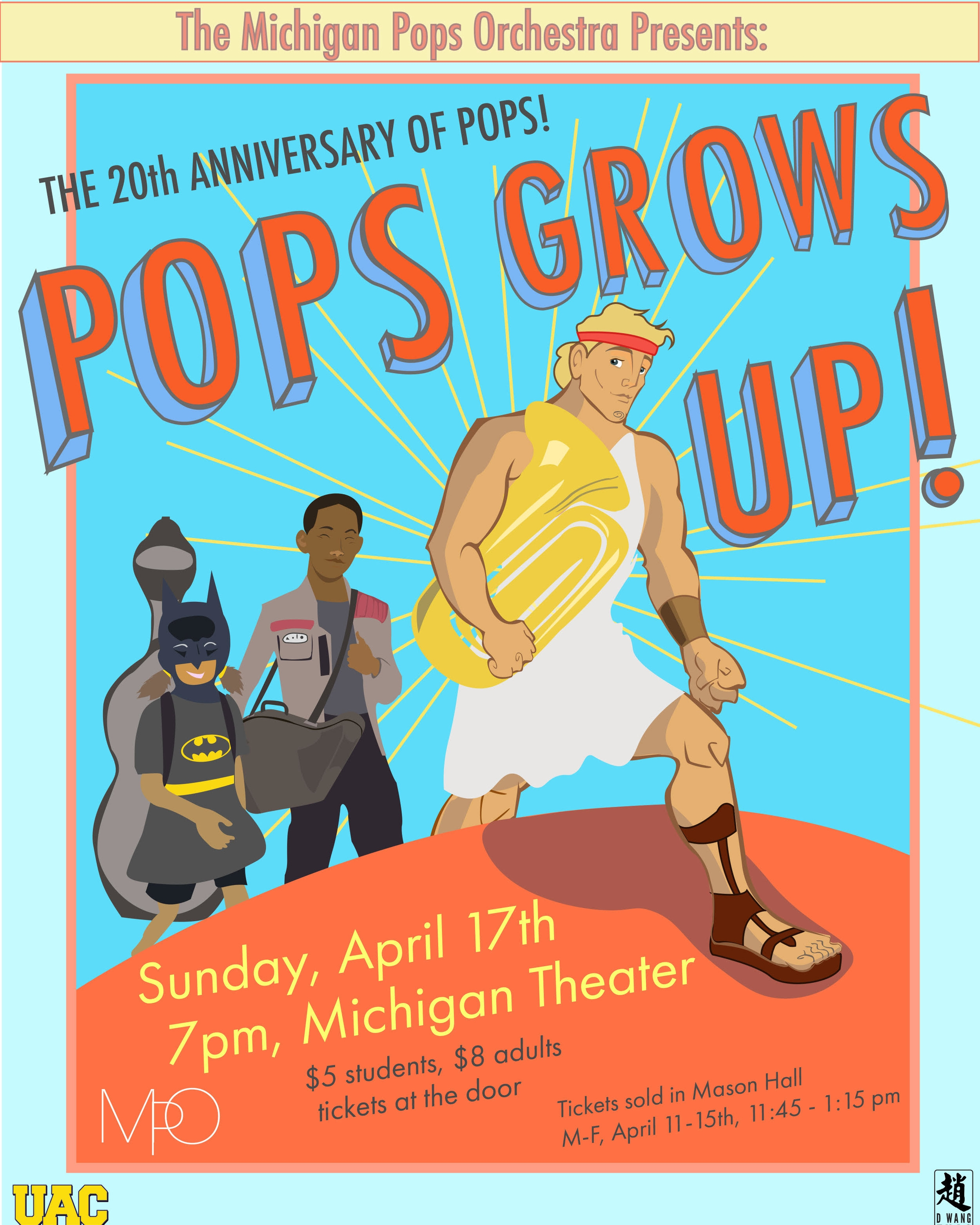 POPS GROWS UP  April 17, 2016