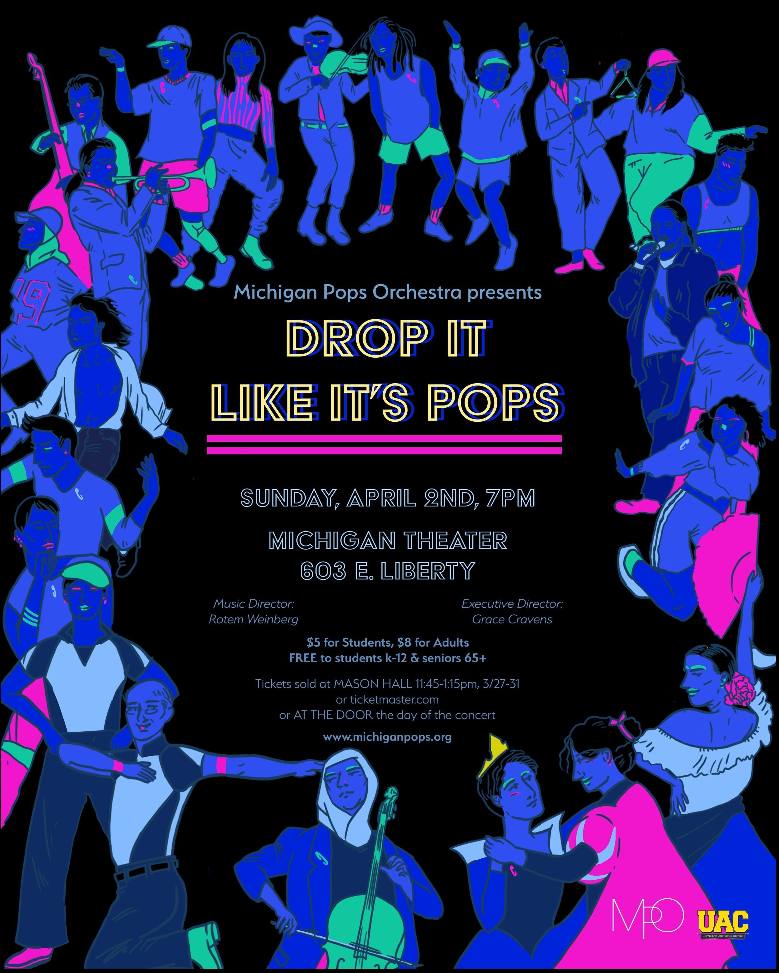 DROP IT LIKE IT'S POPS  April 2, 2017