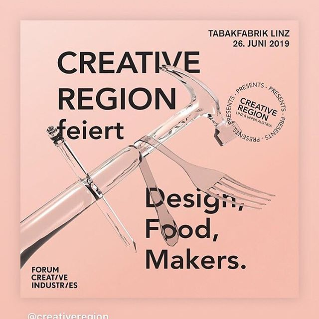 Thank you @creativeregion for having me! Excited to see you in June.