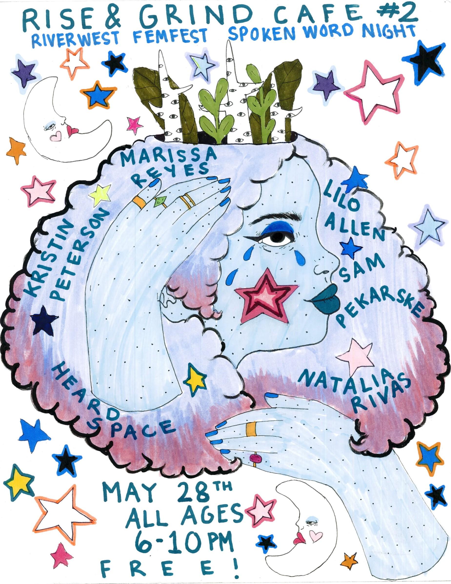 Milwaukee Fem Fest Poster Design 2018
