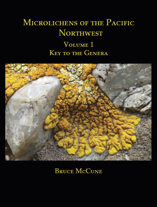 Microlichens of the Pacific Northwest - The two volumes comprising Microlichens of the Pacific Northwest provide, for the first time in one place, comprehensive illustrated keys to the genera (Volume 1) and species (Volume 2) of microlichens from the Pacific Northwest of North America.