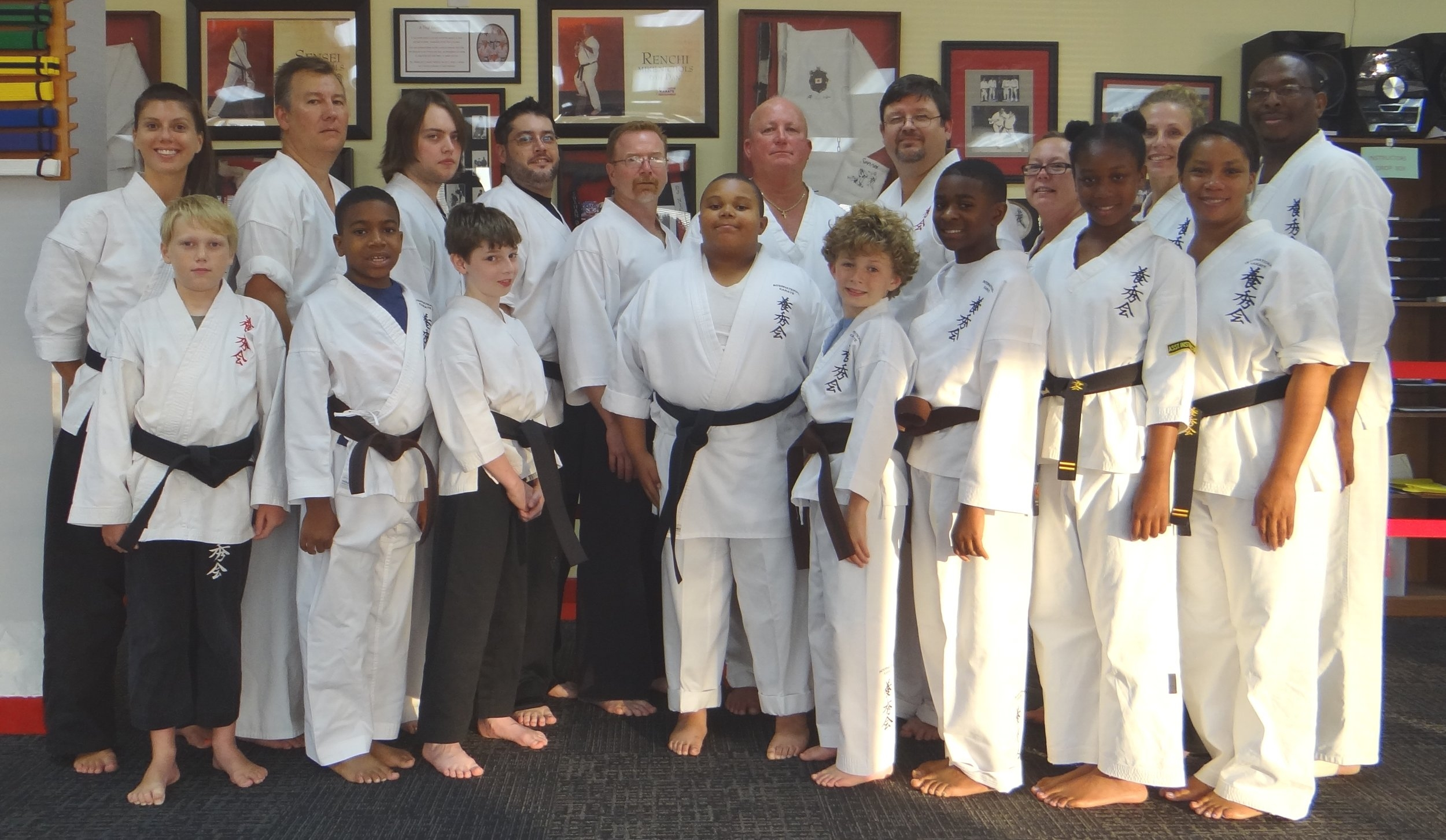 Grants Mill Dojo Training Photo's