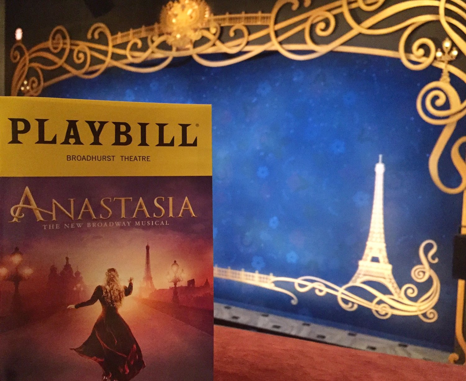 Anastasia on Broadway, Opera Box and show portal fabrication.