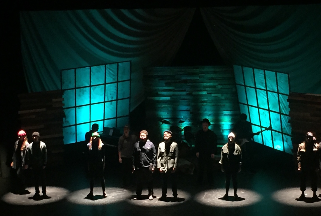 """Saint Andrew's School """"Stages"""" Showcase (lighting/Scenic Design, Technical Direction, Sound Engineer.)"""