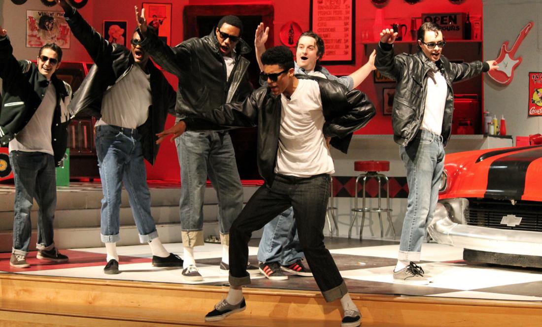 "Saint Andrew's School- ""Grease"" (Scenic/Lighting Designer, Technical Direction, Sound Engineer)"