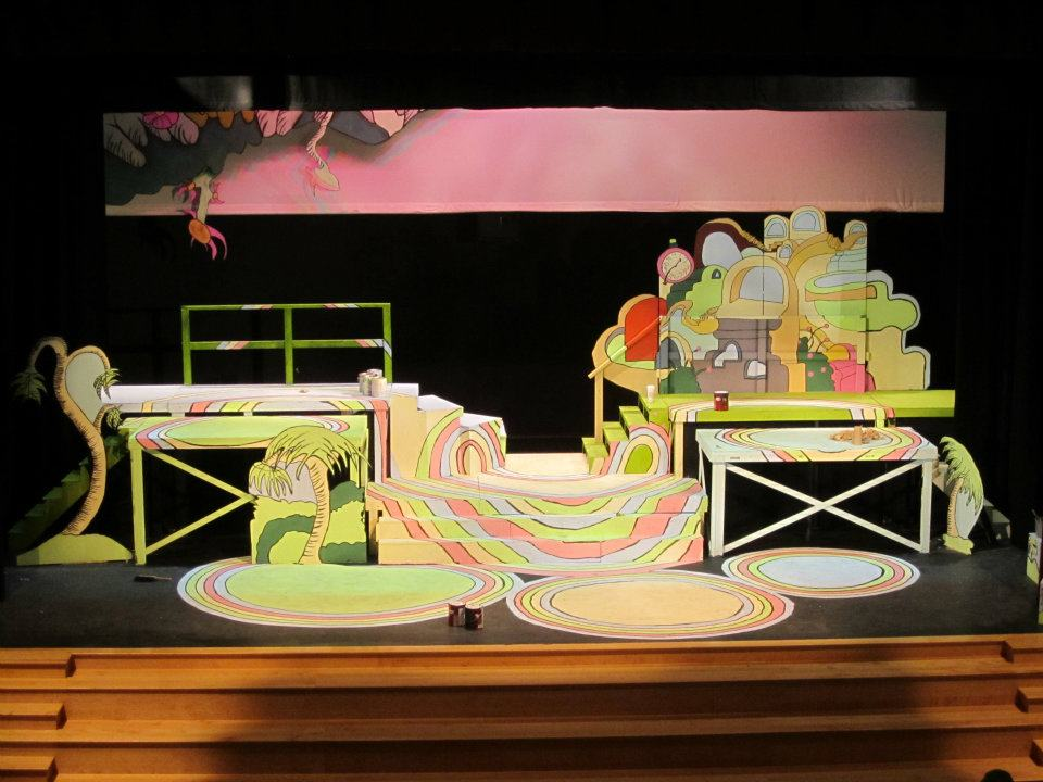 "Saint Andrew's School ""Seussical"" (Scenic/Lighting, Technical Direction)"