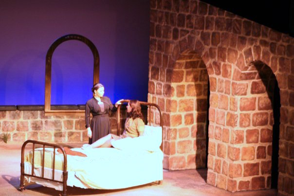 "Bowling Green State University - ""Burning Patience"" (Sound Designer, Scenic Construction)"