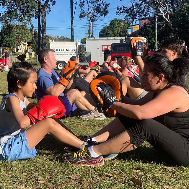 Boxing, HIIT, Weights, every fortnight is different at Brisbane's Big Bootcamp!