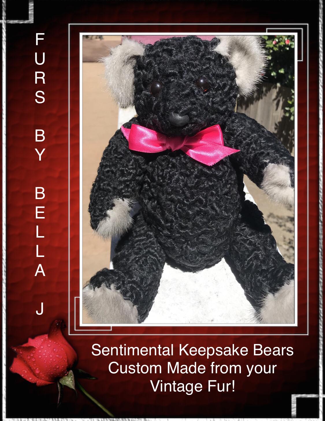 Persian Lamb Sentimental Keepsake Bear