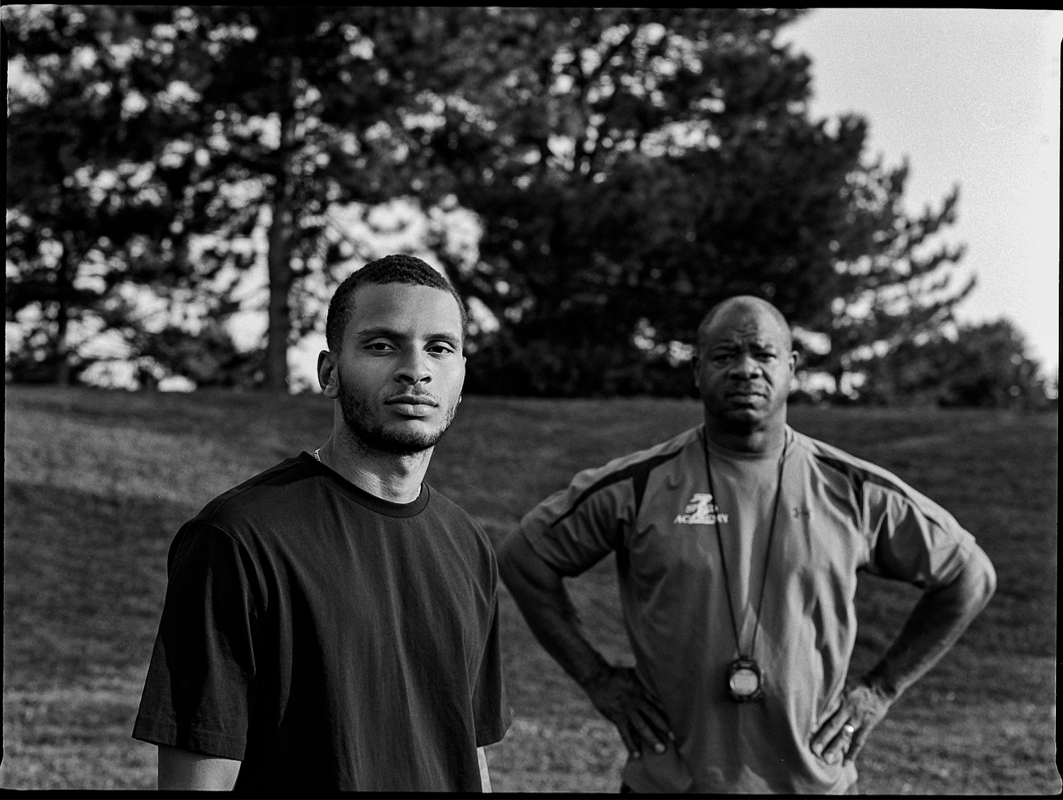 Tony Sharpe and Andre De Grasse / Editorial