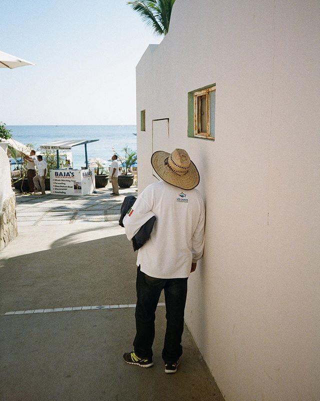 From my time spent on the Baja California Sur, Winter 2018.⠀ ⠀ ⠀ #35mm #fujifilm #superia200 #canonwp1 #ishootfujifilm #pointandshoot⠀