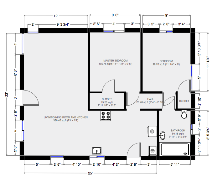 120 Grandview Floor Plan