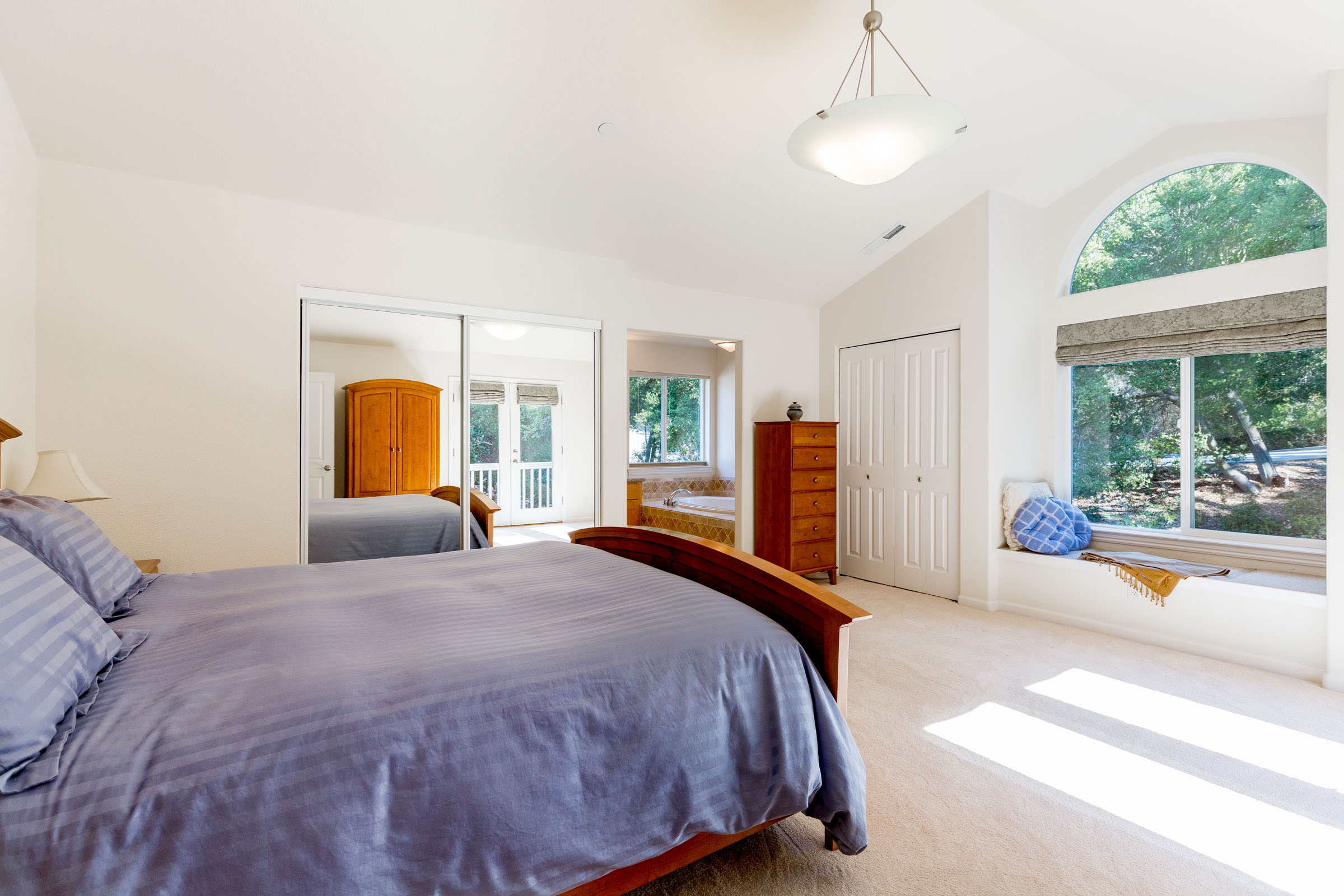 Best Real Estate Service in Santa Cruz Master Bedroom with Natur