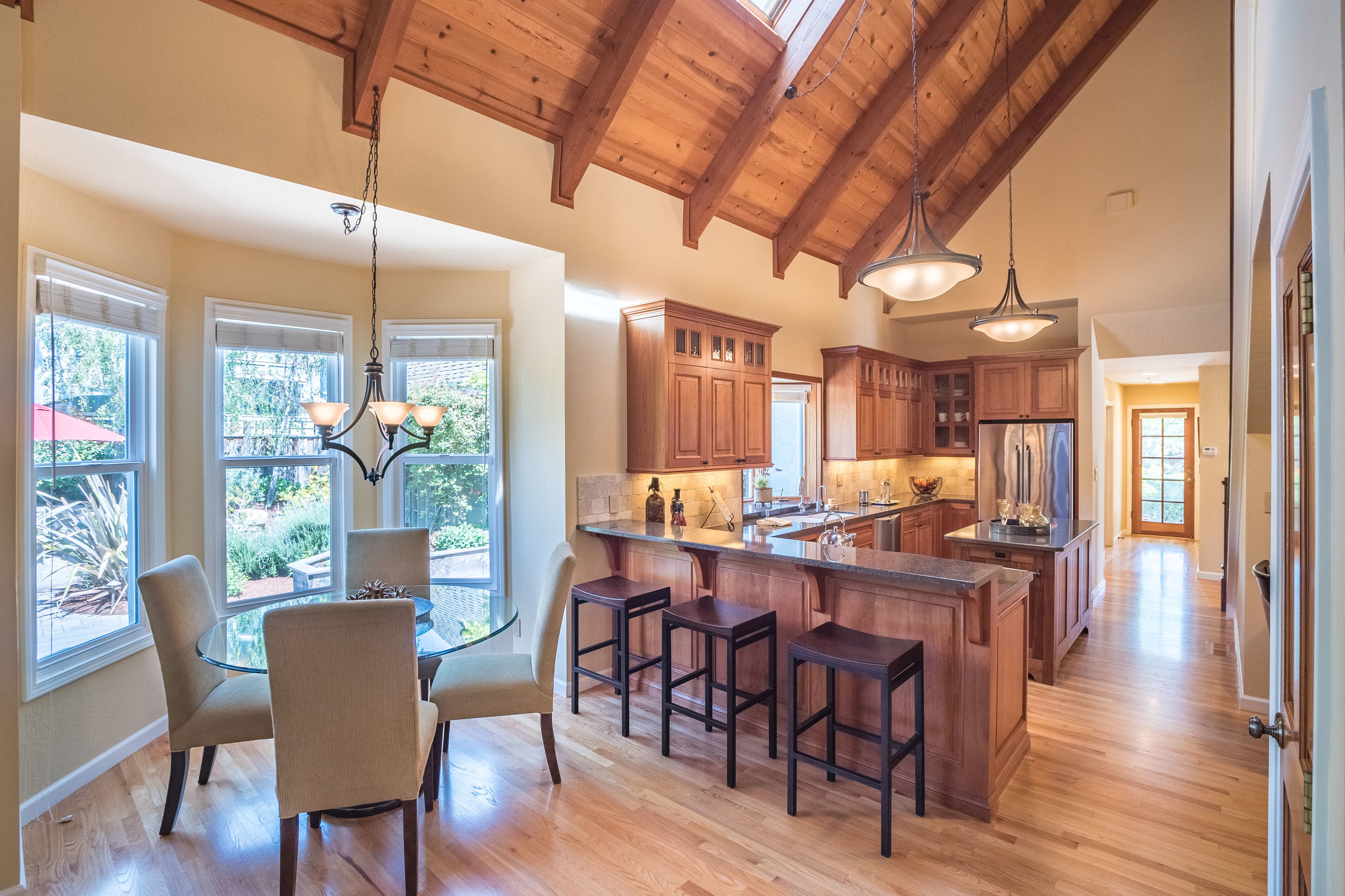 Open Floor Plan Home in Santa Cruz, California